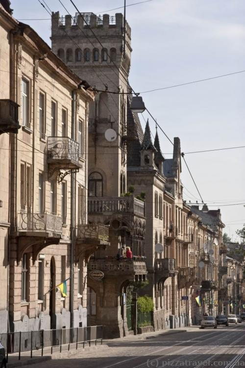 Улица Чупринки