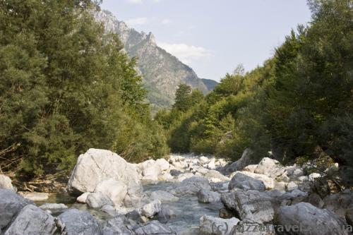 Валбона в Албании