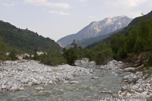 Valbona in Albania