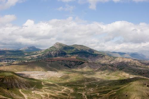 Вид с вершины мыса Алчак