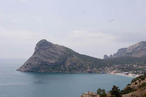 On the way from Sudak