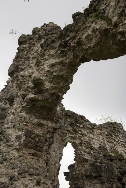 Руины замка тамплиеров