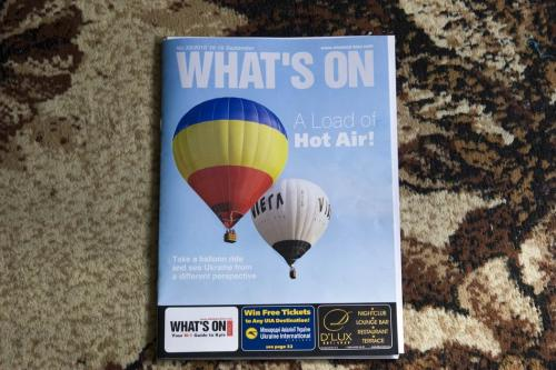 Our balloons on the cover of