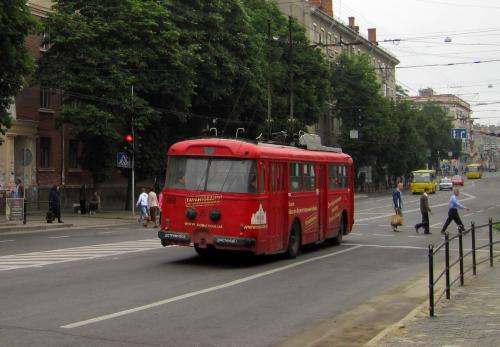Retro transport in Ternopil