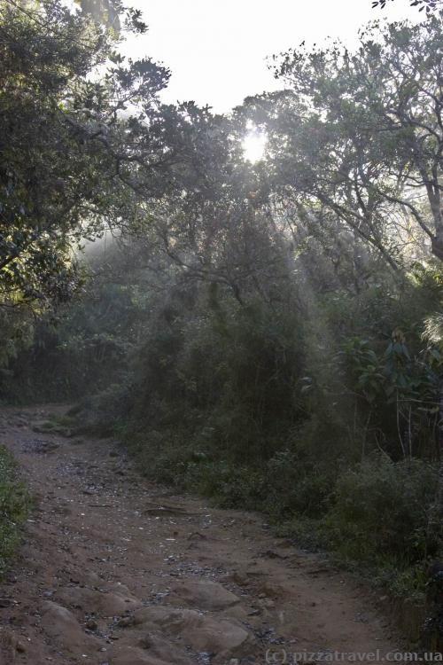 Экотропа на плато Хортон
