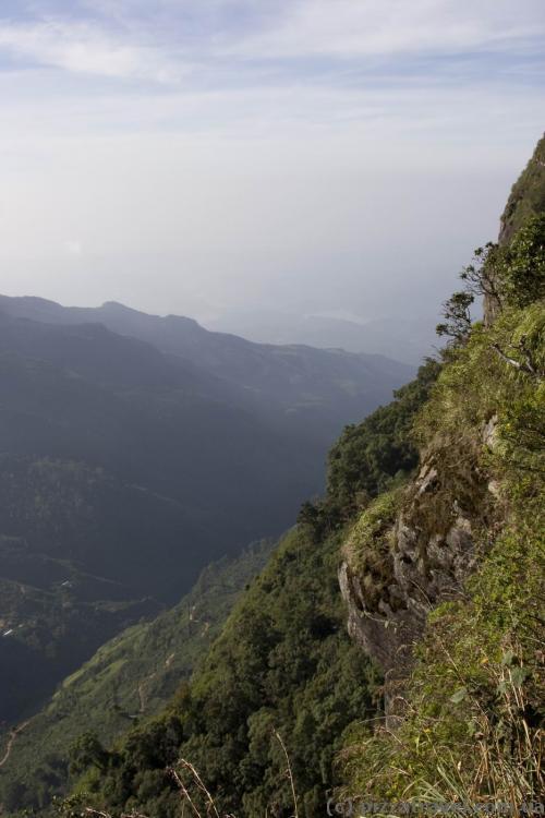 Вид с плато Хортон