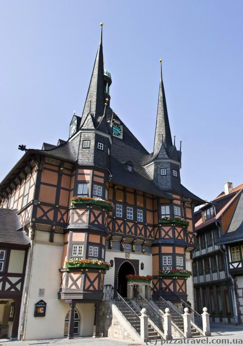 Town Hall in Wernigerode