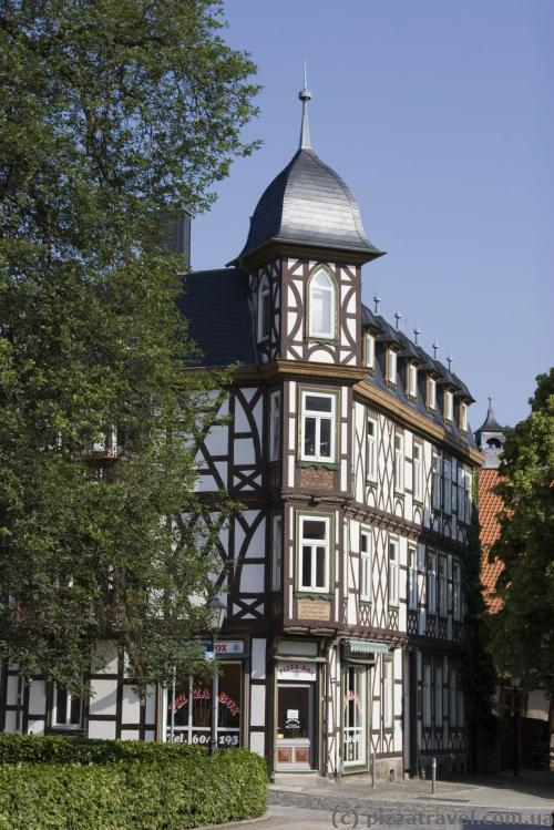 Half-timbered houses in Wernigerode