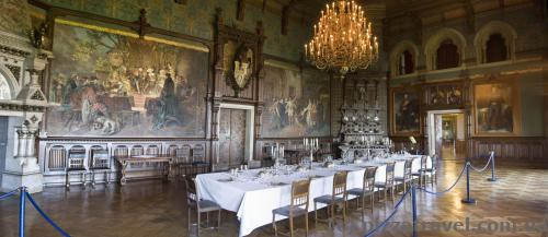 Interiors of the Wernigerode Castle