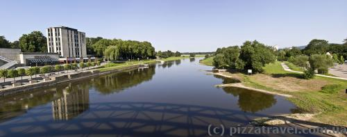 Weser river in Rinteln
