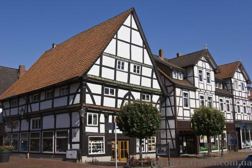 Half-timbered houses in Rinteln
