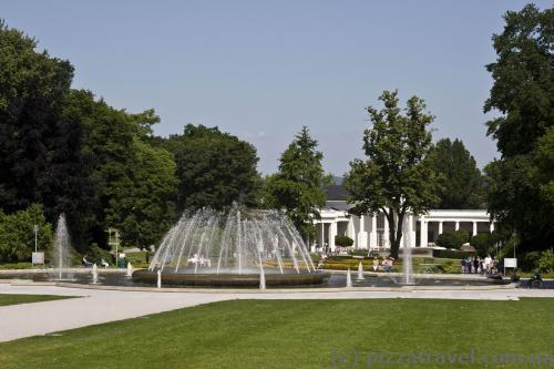 Курортный парк (Kurpark) в Бад-Эйнхаузене