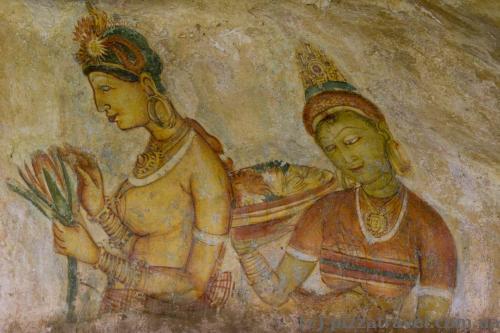 Росписи в Сигирии