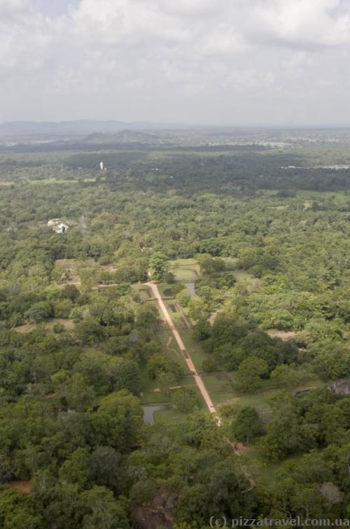 Gardens at Sigiriya