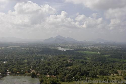 View from the Sigiriya rock