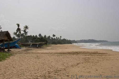 Пляж в Косгоде