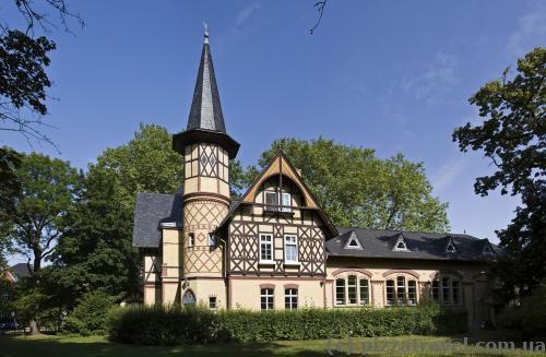 Фахверкові будинки у Кведлінбурзі
