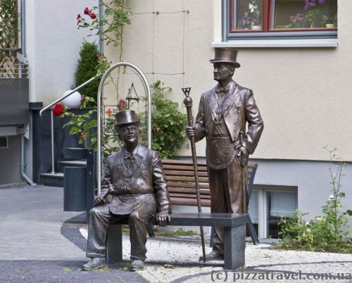 Скульптуры в Кведлинбурге