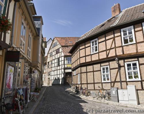 Фахверковые дома в Кведлинбурге