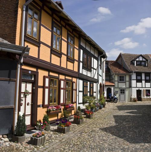 Стара частина міста - Мюнценберг