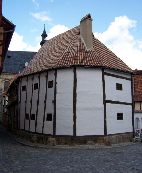 Самый старый дом в Восточной Германии (первая половина 14 века)