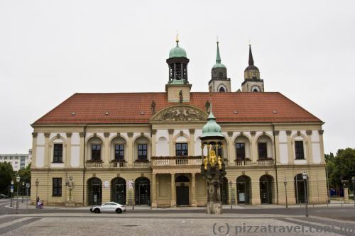 City Hall of Magdeburg