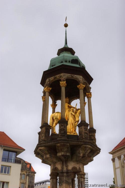 Magdeburg Horseman that represents the Emperor Otton I.