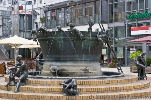 Fountain on Leiterstrasse