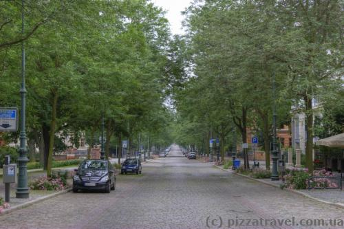 Beautiful Hegelstrasse Street