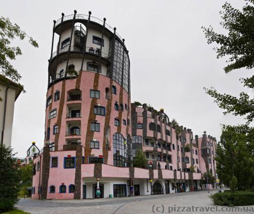 Зеленая цитадель в Магдебурге