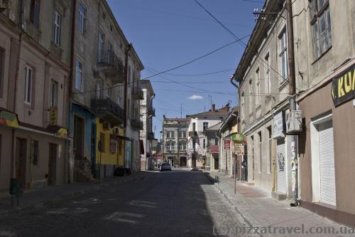 Drohobych streets