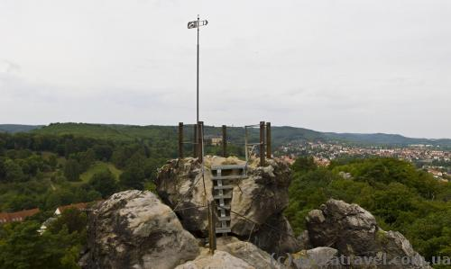 Смотровая площадка Teufelsmauer