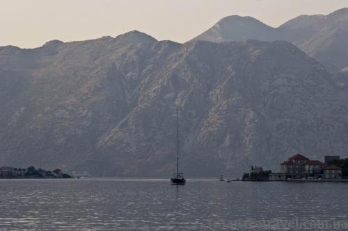 Вид с набережной Котора