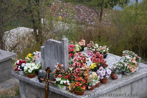 Кладбище возле крепости