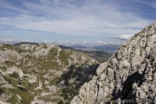 Гірський масив Дурмітор з гори Савін Кук