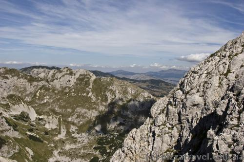 Durmitor massif from mount Savin Kuk