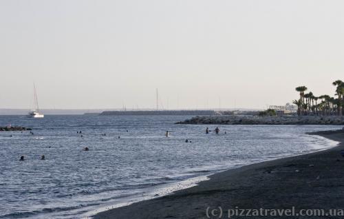 Beach in Limassol