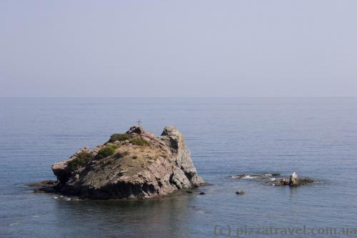 Rocks near the Baths of Aphrodite