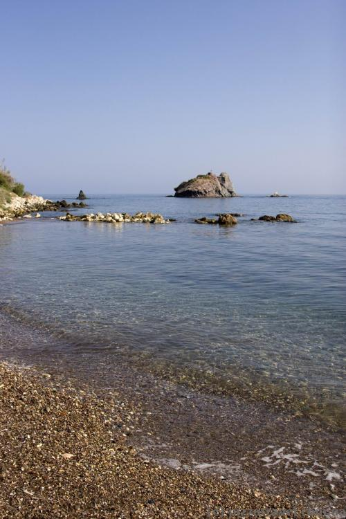 Beach near the Baths of Aphrodite