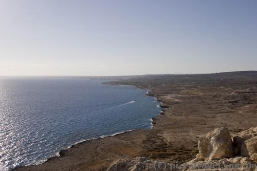 Cape Greco view from the viewpoint
