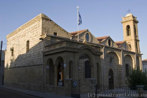 Церковь Agios Savvas