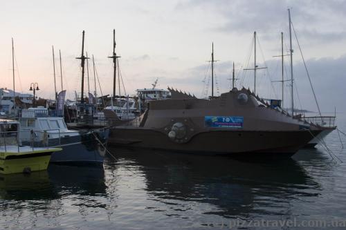 Boat of Captain Nemo
