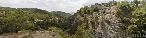 Пейзаж около водопада Милломерис