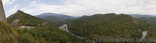 Вид с крепости Уджарма