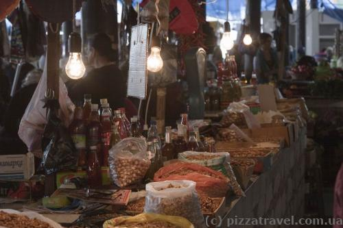 Рынок в Телави