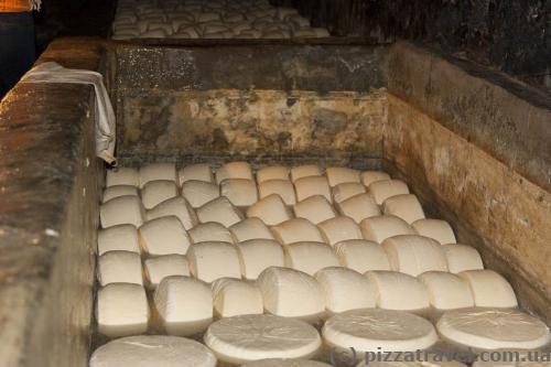 Fragrant Georgian cheese
