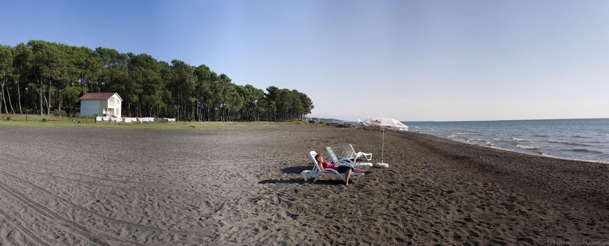 Батуми фото пляжей и набережной