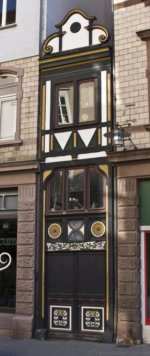 The narrowest house in Germany