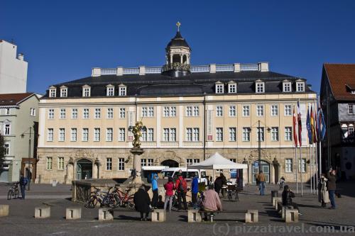 Городской дворец (1742-45)