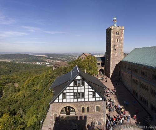 Wartburg Castle courtyard
